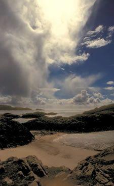 Isle of Iona, Scotland --- Iona Light