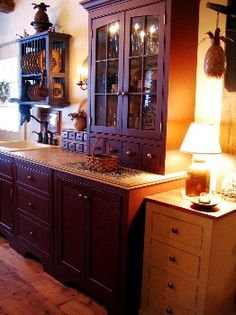 kitchen cabinet colors, countri kitchen, primit decor, colorful kitchens, country kitchens, drawer, primit kitchen, kitchen cabinets, primitive kitchen