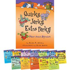 These books are so much fun to use when teaching parts of speech!