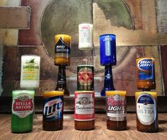 Scented Beer Bottle Candle (Customize Your Own: Choose a Beer Bottle and a Scent)