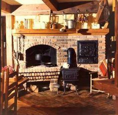 Country Fireplace.