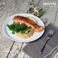 Smoked Salmon & Spiced Red Lentils – Spicely Organics