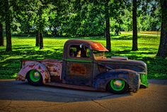 1941 Ford Pickup Patina - Rat Rod rat rods, pickup trucks, rat truck, ratrod