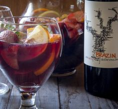 Red Summer Sangria Recipe