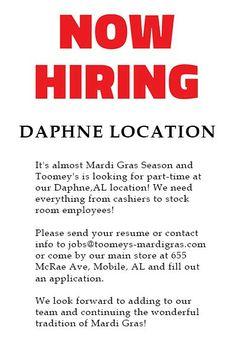 open job application letter