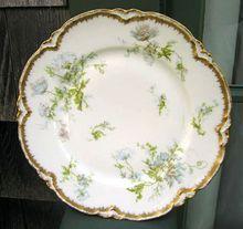 Antique Haviland Limoges Plate  Schleiger 79