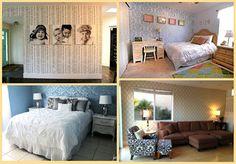 stenciled walls #stencil #stencils #wall stencil