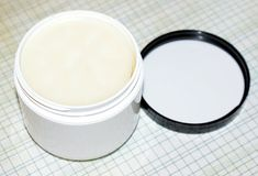 A DIY Solid Lotion Bar Recipe for an all natural lemon and basil scented homemade solid lotion bar! Plus use a common single serving ice cream container as a mold.