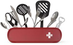 Swiss Armius - Yegor Zhgun: Have all your utensils at hand with this cutlery holder.
