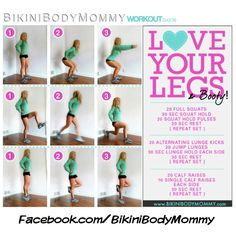 FREE BIKINI BODY MOMMY -- 90 DAY WORKOUT CHALLENGE :: currently on day 12 and getting my butt kicked in a good way. Most workouts are short and sweet which makes it possible to fit them in even with a 3 month old at home :)