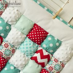 puff quilts Archives  HoneyBear Lane (like this color combo)