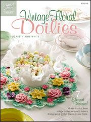 Vintage Floral Doilies - Electronic Download