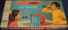 MILTON BRADLEY: 1971 Battleship Game #Vintage #Games