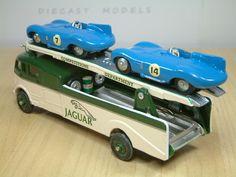 Dinky Toys Commer 'Jaguar' Race Car Transporter