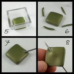 Tutorial for how to make kite link beads