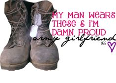 All I need is a military boyfriend lol then I could be the proud military girlfriend that I know is in my heart :)