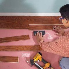Best - how to install wood flooring and tools