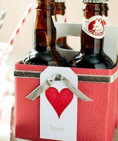 Valentine Gift Ideas for Boyfriend - Homemade Soda Case - Click Pic for 40 DIY Valentine Gift Ideas for Husband