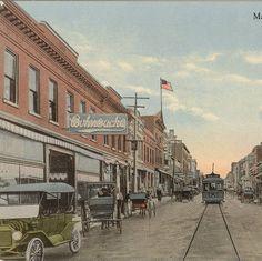 Main Street, Cape Girardeau, MO, 1915. :: Postcard Collection
