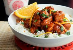 Creole Contessa: P.F. Changs Orange Peeled Chicken Copycat