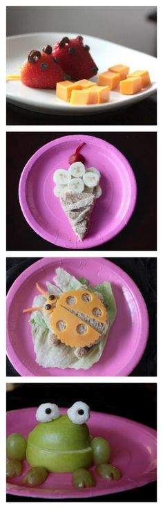 Fun ideas for kids lunches!