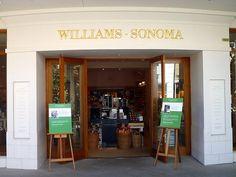 Williams Sonoma stores