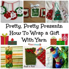 Pretty, Pretty Presents: How To Wrap a Gift With Yarn