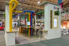 Google Stand at Web