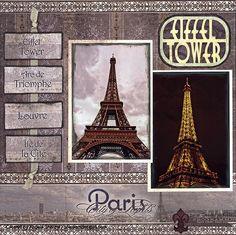Paris scrapbook ideas on pinterest travel scrapbook - Boutique scrapbooking paris ...