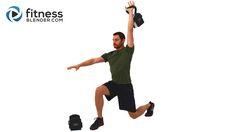 Non-Stop Endurance Kettlebell Workout - 33 Minute Total Body Kettlebell Routine - Fitness Blender