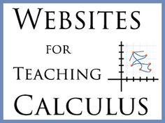 Websites for Teaching Calculus