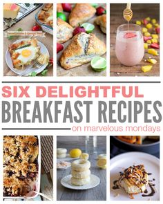 6 Delightful Breakfast Recipes on This Gal Cooks