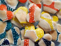 22 funny fake lingerie cookies FREE SHIPPING by HandyHappy on Etsy, $25.00