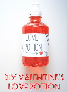 6th Street Design School | DIY Valentine's Love Potion