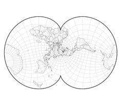 Projection transitions Maps