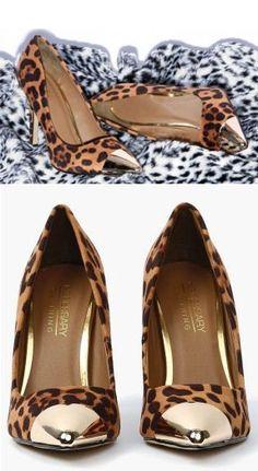 lovely leopard pumps