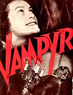 Vampyr (Carl Dreyer, 1932), featuring some startling and haunting imagery, Dreyer's film finds a young man travelling to a village cursed by vampires. Find this at 791.43743 VAM