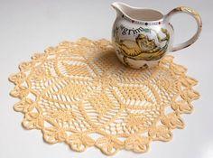 pinappl doili, 9crochet pinappl, crochet doili, crochet doilystat, crochet beauti