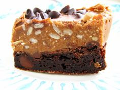 grain & dairy free peanut butter brownies