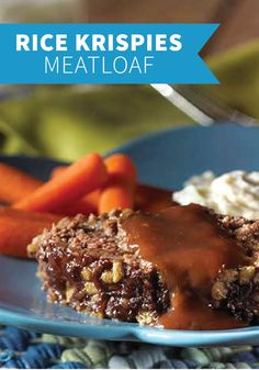 ... mushroom soup and red wine, transforms home-style meatloaf into