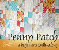 Penny Patch button QAL