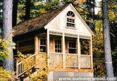 Cheyenne Cabins | Small Cabin with Loft, Kits & Plans