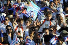 Primero de Mato en Cuba  FOTO: Roberto Suárez