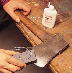 How To Sharpen Tools – Axe, Shovel, And Lawn Mower blades. Step By Step Instructions.