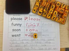 Students love stamping sight words and writing sentences with each sight word - Managing Guided Reading Groups with Literacy Centers (FREEBIE included)