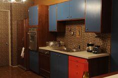 Don Draper's Kitchen, Mad Men.  Repinned by Secret Design Studio, Melbourne. www.secretdesignstudio.com