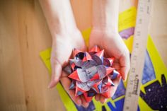 Making a Bow out of magazines great way to reuse!