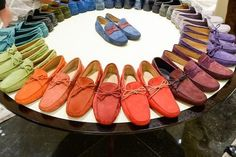 Tod's Madison Flagship Reopens with Driving Moc Color Wheels - Now Open - Racked NY