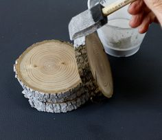 How To: Make Graphic Tree Limb Coasters