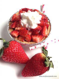 Strawberry Cheesecake Tarts - Eazy Peazy Mealz